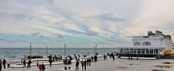 Одесское море перед штормом