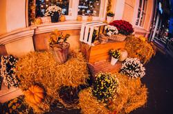 Одесские витрины преобразились в честь Хэллоуина (ФОТО)