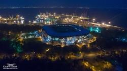 Ночная Одесса с высоты птичьего полета: от вокзала до стадиона (ФОТО)