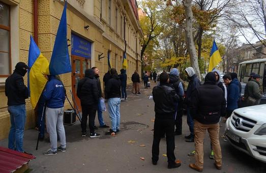 Проукраинские активисты уверены, что памятник Екатерине в Одессе стоять не должен