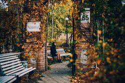 Французский бульвар в Одессе окрасился яркими красками (ФОТО)
