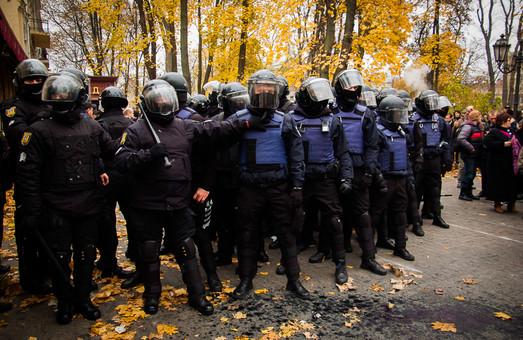 Одесская полиция признала действия коллег в Городском саду законными