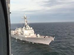 """ВМСУ провели совместные учения с эсминцем ВМС США """"Джеймс Уильямс"""""""