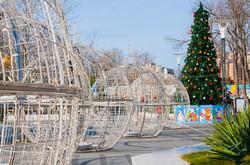 Одесскую Аркадию уже готовят к Новому году (ФОТО)