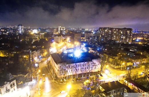 Как вечернюю Одессу накрыло туманом (ФОТО, ВИДЕО)