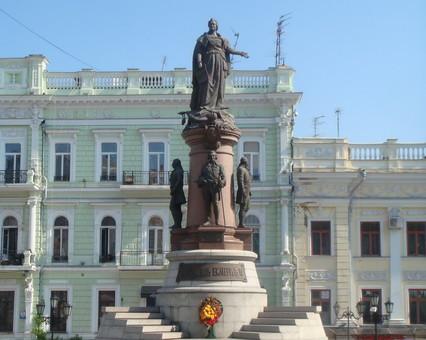 Будет ли в Одессе стоять памятник Екатерине II выяснится в феврале будущего года