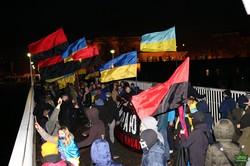 В Одессе провели факельное шествие в память о Героях Крут