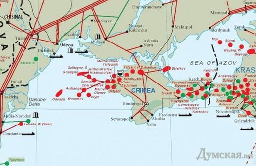 Россияне умудрились украсть 3,5 млрд. кубометров газа из Одесского месторождения