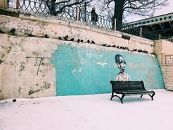 Заснеженная в конце марта Одесса: Аркадия, парки и море