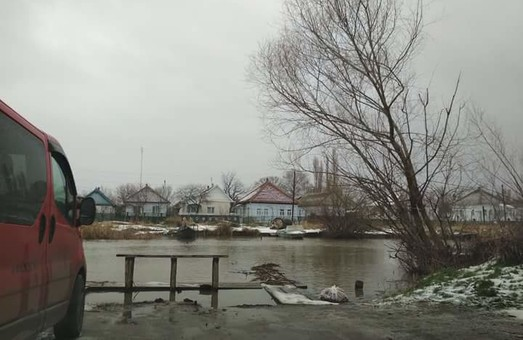 Райцентру Одесской области угрожает наводнение на Дунае (ФОТО)