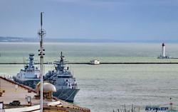 Флагман ВМС Украины вышел в море на международные учения (ФОТО, ВИДЕО)