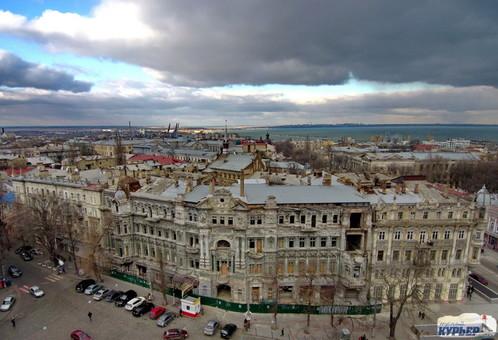 В Одессе снова объявили тендер на реставрацию Дома Руссова (ВИДЕО)