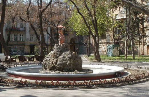 """Нимфу"" в одесском Пале-Рояле восстановили"