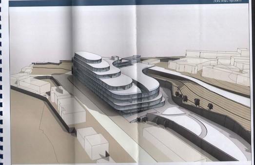 В Одессе опубликовали проект торгового центра на Таможенной площади годичной давности