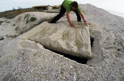 В национальном парке на юге Одесской области нашли бункеры контрабандистов (ФОТО)