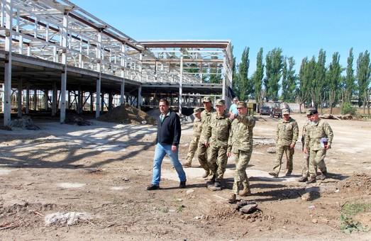 Под Одессой строят современную базу для морской пехоты
