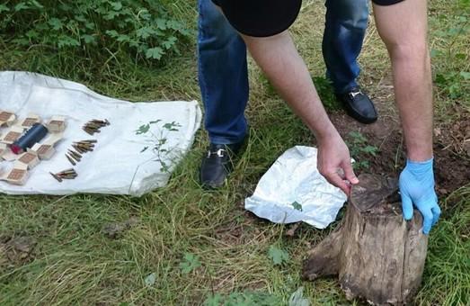 В Одесской области СБУ обнаружила два тайника с боеприпасами