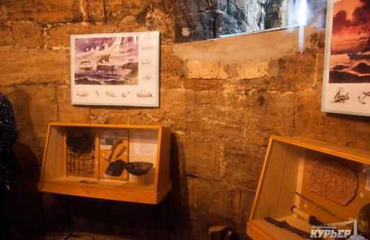 В одесском музее «Пороховая башня» восстановили уникальный камин ХIХ века