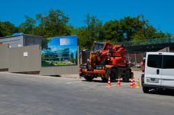 В Одессе вместо несостоявшегося аквапарка на Ланжероне будут строить корпус отеля (ФОТО)
