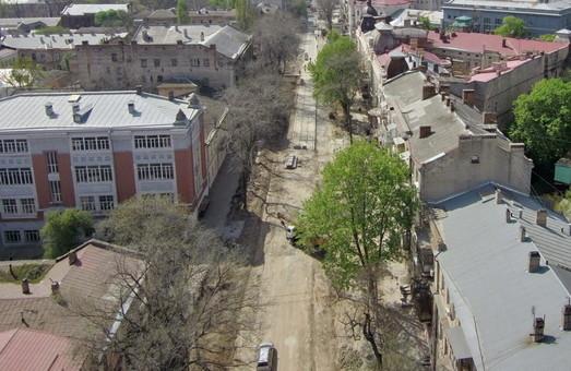 Капремонт улицы Преображенской в Одессе вышел на завершающий этап