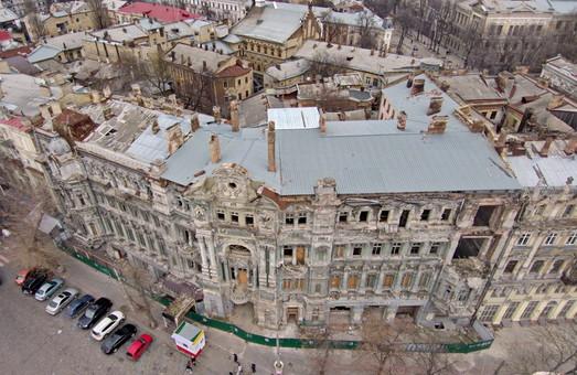 """В ближайшие дни обещают начать реконструкцию самого """"убитого"""" памятника архитектуры в центре Одессы"""