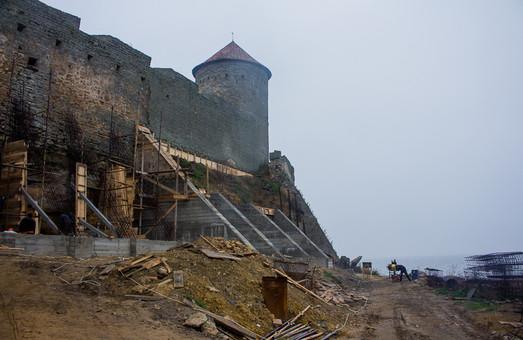 Денег на восстановление северной стены Аккерманской крепости снова нет