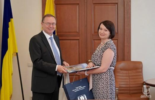 Одесскую область посетил финский посол