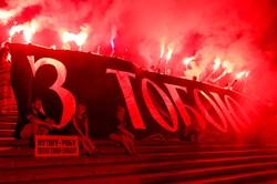 В Одессе прошла огненная акция в поддержку Олега Сенцова (ФОТО)