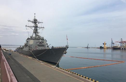 В Одессу прибыл американский эсминец: готовятся международные морские учения (ФОТО)