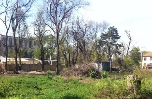 В Одессе застроят территорию школы-интерната на Фонтане