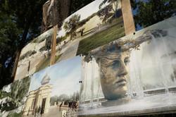 В Греческом парке Одессы заложили фонтан и прокладывают коммуникации