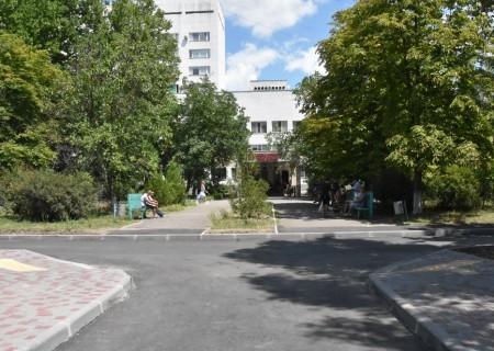 В Одесской областной клинической больнице оснащен новый заезд для спецтехники