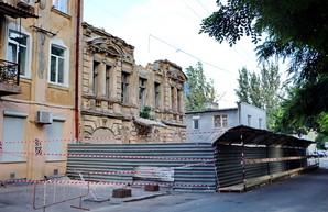 В центре Одессы сносят старый дом - бывший памятник архитектуры (ФОТО)
