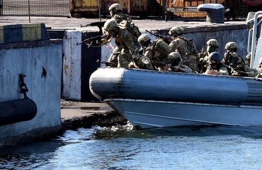 Вблизи Одессы прошли масштабные контрдиверсионные учения военного флота и СБУ (ФОТО)