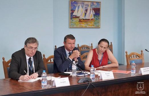Власти Одесской области и представители миссии ОБСЕ обсудили сотрудничество в области безопасности