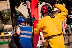 В Одессе открылся фестиваль с рыцарским турниром (ФОТО)