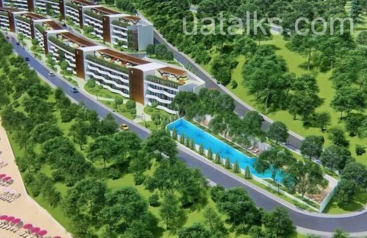 По склону мыса Большой Фонтан в Одессе построят многоэтажный жилой комплекс в нескольких уровнях