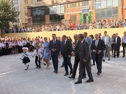 Как в Одессе новый лицей открывали: поздравил даже Порошенко (ФОТО)