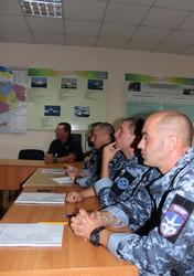 Американцы учат украинских пограничников нырять