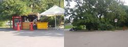 Лето закончилось — в Одессе из парка Шевченко убрали торговые точки (ФОТО)