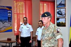 Англичане учат украинских военных моряков