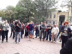 Одесскую полицию пикетировали активисты: обещают повторить