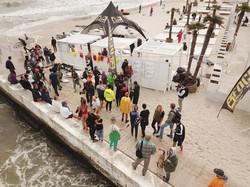 Ветер и волны помогли соревнованиям серфингистов в Одессе (ФОТО)