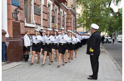 Послезавтра по Одессе пройдут маршем будущие моряки