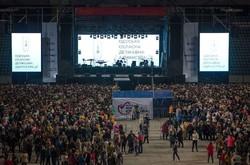 День учителя отмечали на стадионе (ФОТО)