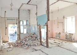 В Одессе ремонтируют один из корпусов инфекционной больницы (ФОТО)