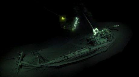В Черном море найден корабль Одиссея (ФОТО, ВИДЕО)