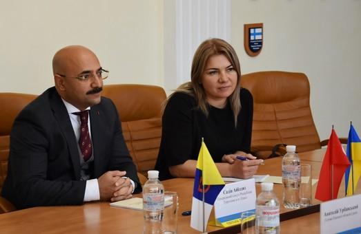 В Одессе - новый консул Турции