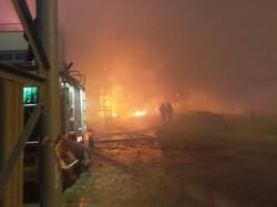 Под Одессой горел маслозавод (ФОТО)