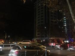 В Одессе горел жилой новострой на проспекте Шевченко (ФОТО)
